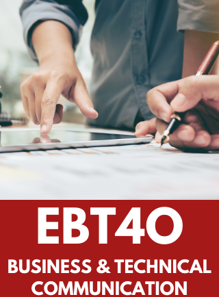 EBT4O, Grade 12 Business and Technology English Online Course