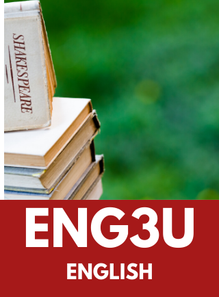 ENG3U, English Online Course