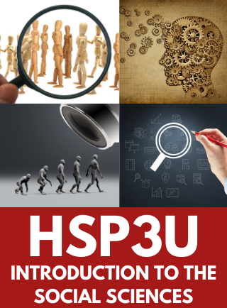 HSP3U, Intro to Anthropology, Psychology & Sociology Online Course