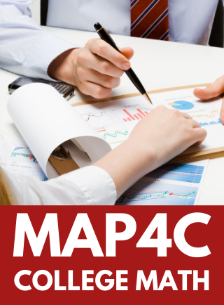 MAP4C, Grade 12 Foundations for College Mathematics Online Course