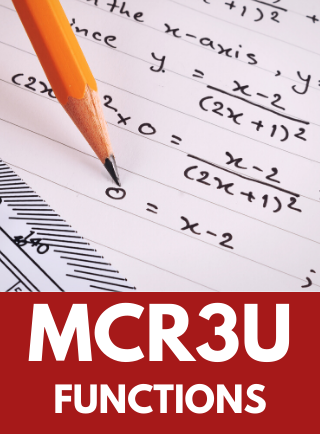 MCR3U, Functions Online Course