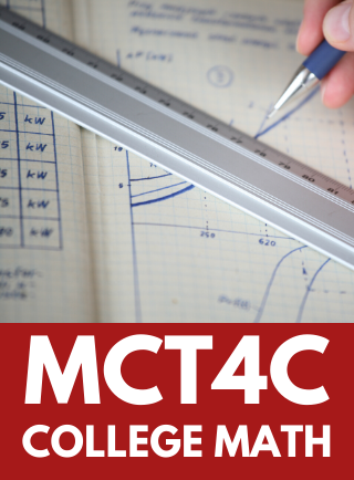 MCT4C, Grade 12 Mathematics for College Technology Online Course