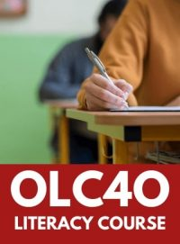 Grade 12 Ontario Secondary School Literacy image