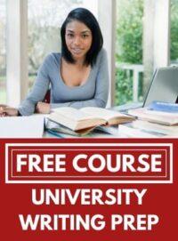 University Writing Preparation image
